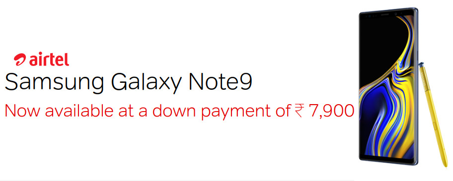 Samsung-Galaxy-Note-9-Airtel-offer