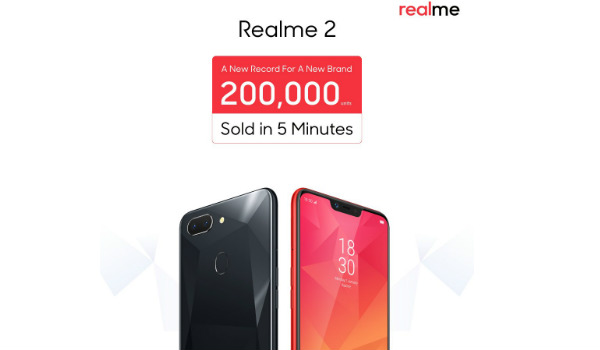 Realme 2 First Sale