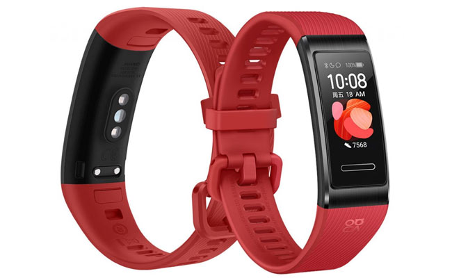 HUAWEI-Band-4-Pro-Red